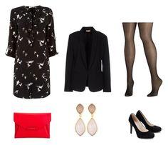 """Look Noite Blazer"" by alessa-passos on Polyvore featuring moda, Maesta, Avenue, Dina Mackney, Oasis e Givenchy"