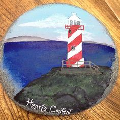 51 Rock Painting Lighthouses Ideas Painted Rocks Painting Rock