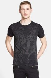 Versace Collection Studded Front T-Shirt