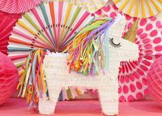 Unicorn Pinata Rainbow Unicorn Unicorn Party by LulaFlora on Etsy