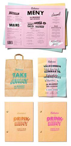 Calexico's restaurant branding. Calexico's restaurant branding. Layout Design, Web Design, Logo Design, Graphic Design Branding, Corporate Design, Packaging Design, Bakery Packaging, Print Design, Design Ideas