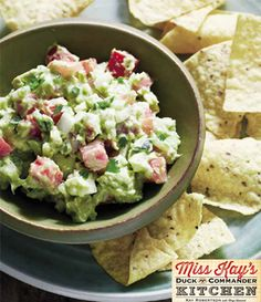 Guacomole from Miss Kay's Duck Commander Kitchen #Recipes #Cookbook #DuckDynasty #FreeBook