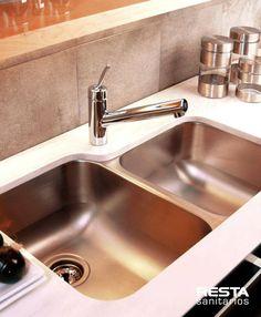 #bachas #acero #johnson #mipileta #FV #roca #lavatorio #jonhson #fv #roca pileta de cocina mesada