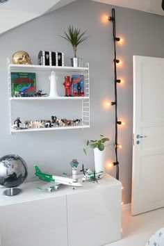 When given the proper open shelving for display your child's toys can actually look really cool and decorative.