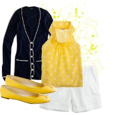 yellow is huge for this spring