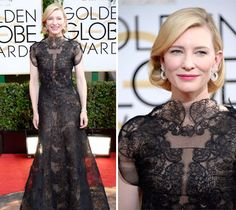 Golden Globes Red Carpet Style