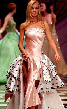 Karen Mulder - Atelier Versace. 1995