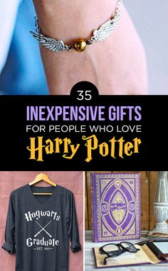 35 Awesome And Inexpensive Harry Potter Gifts  Is it sad I already own more than a few of these things?