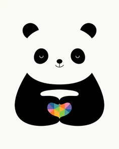 Panda Love - No matter what you are, the only thing that defines us is what inside of our heart : )