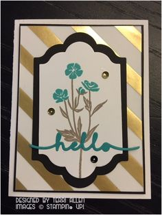 Wild About Flowers, Stampin' Up!