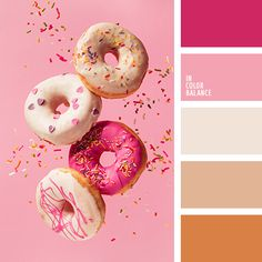 Pink and mustard colour palette Color Schemes Colour Palettes, Orange Color Palettes, Colour Pallette, Color Combinations, Pink Palette, Summer Color Palettes, Color Tones, Pink Color, Pantone