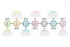 Buy Timeline Infographics Steps) by Design_Sky on GraphicRiver. This is Horizontal Timeline Infographics. Features: Easy Customizable and Edi. Timeline Example, Timeline Design, Timeline Infographic, Infographic Templates, Infographics Design, Workflow Design, Diagram Chart, Software, Web Design Inspiration