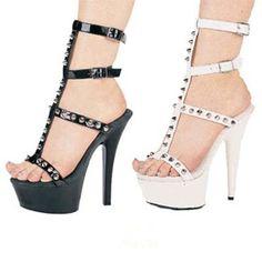 Spikey heels