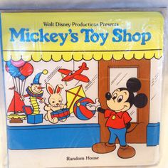 Hey, I found this really awesome Etsy listing at https://www.etsy.com/listing/205731708/disney-mickeys-toy-shop-bath-book