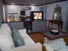 Basement Bar/Living area