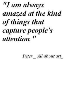 always amazed...
