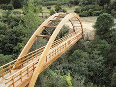 Garden Bridge, Bridges, Spectrum, Landscape Design, Dancing, Queens, Outdoor Structures, Construction, Architecture