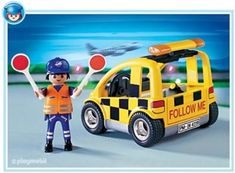 Amazon.com: Playmobil Airport Vehicle: Toys & Games