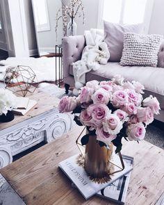 Comfy Living Room Decor Ideas To Relax - Decor Life Style Cute Home Decor, Cheap Home Decor, Decorating Your Home, Interior Decorating, Interior Design, Decorating Ideas, Living Room Decor, Bedroom Decor, Living Rooms
