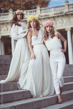 vestidos de novia clara brea  www.webnovias.com/blog