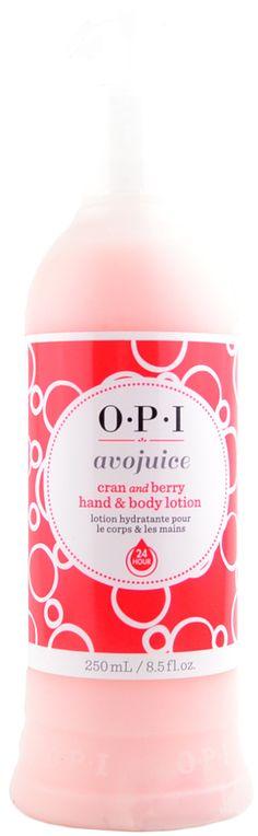OPI Cran & Berry Avojuice (250 mL / 8.5 fl. oz.), Free Shipping at Nail Polish Canada