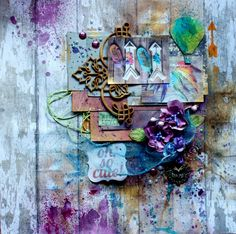 Szymka-Blog z Inspiracjami: {244} Colorful LO Scrapbooking