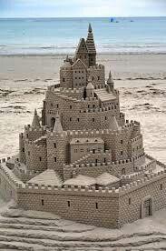 Castello di sabbia...