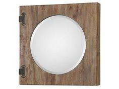 Funky Mirror Door