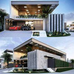"14.1 mil Me gusta, 26 comentarios - Amazing Architecture (@amazing.architecture) en Instagram: ""Residência Ferreira by@dalberaguero.arquiteto #brasil #3dmax #VRAY3  www.amazingarchitecture.com…"""