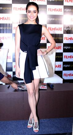 Shraddha Kapoor at the launch of new Filmfare cover