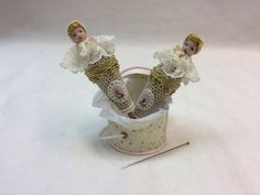 Baby puppet by AnandaMiniaturas on Etsy