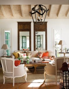 How to Start a Room Makeover - The Turquoise Home Cozy Living Rooms, Home Living Room, Living Room Decor, Living Spaces, Boho Home, Design Case, Living Room Inspiration, Family Room, Sweet Home