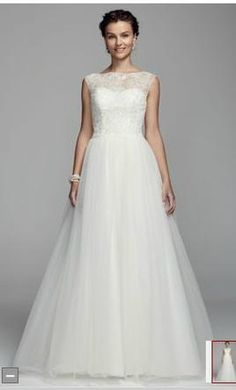David's Bridal: buy this dress for a fraction of the salon price on PreOwnedWeddingDresses.com