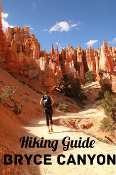 The perfect hike to see the most of Bryce Canyon. Hiking Guide with map.