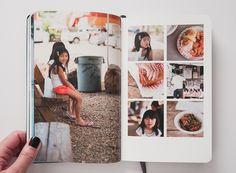Ohau 2014 Moleskine Photo Notebook by Paislee Press (Photo: Travel Photo Album, Album Photo, Family Yearbook, Album Diy, Wedding Collage, Wedding Photo Albums, Book Layout, Photo Layouts, Photo Journal