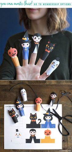 Halloween Paper Fing