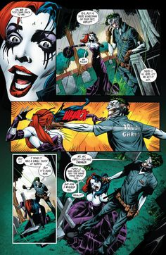 Joker makes his return in Suicide Squad #14 and attacks Harley Quinn at a funeral