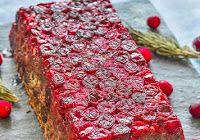 Mushroom Lentil Loaf with Cranberries Holloween Cake, Lentil Loaf, Cranberries, Meatloaf, Lentils, Breakfast Recipes, Stuffed Mushrooms, Vegan, Food