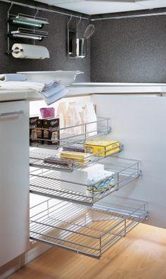 1000 images about herrajes para el mueble de cocina on for Muebles bajos para cocina
