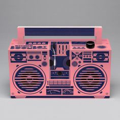 boombox by Axel Pfaender.