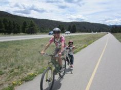 The joys of biking with your kids