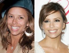 13 Shocking Photos Of Celebrities Without Makeup- page (1)