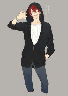 Hoodie :) Haikyuu Ships, Haikyuu 3, Nishinoya Yuu, Kageyama, Bokuto Koutarou, Ushijima Wakatoshi, Iwaizumi Hajime, Chicas Anime, Anime Guys