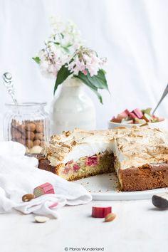 Ein ♥ für Klassiker: Rhabarber-Baiser-Kuchen