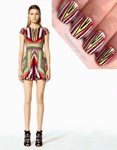Nail Art: Fashion Inspired Nails