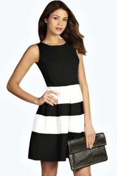 Kate Monochrome Skater Dress. Get unbelievable discounts up to 60% Off at Boohoo using Coupon & Promo Codes.