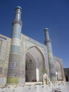 Herat's Mosque. Afghanistan