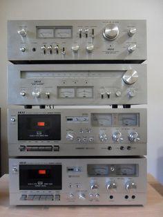 AKAI AM-2600 AT-2600 GXC-709D GXC-725D