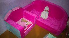 Кукольный домик от А до Я: Игровой диван и кресло для дочки