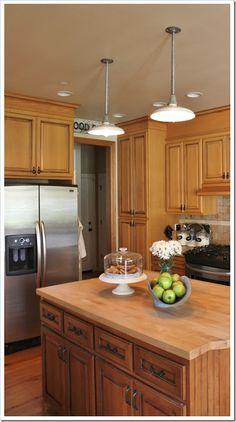 Pendant Light in kitchen